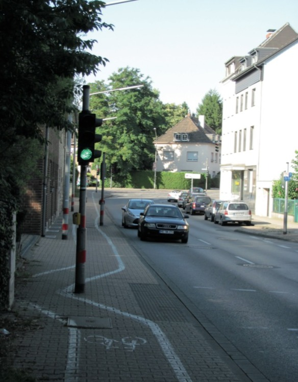 Fußweg in MG